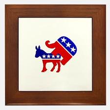 Democrats Stink Framed Tile