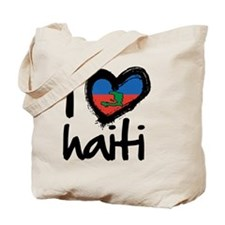 iheart-Haiti Tote Bag