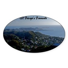 St Georges Grenada9x12 Decal