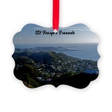 St Georges Grenada9x12 Ornament