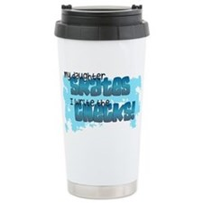 Check Mom Travel Mug