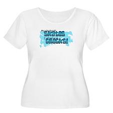 Check Mom Plus Size T-Shirt