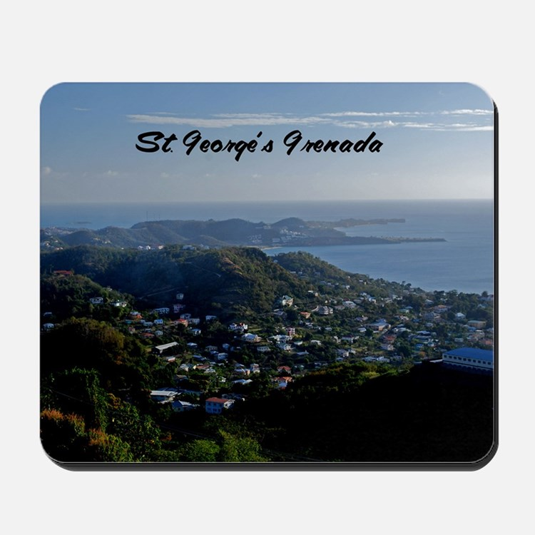 St Georges Grenada42x28 Mousepad