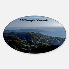 St Georges Grenada42x28 Decal