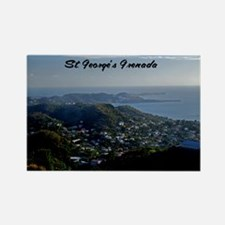 St Georges Grenada42x28 Rectangle Magnet
