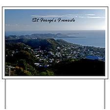 St Georges Grenada42x28 Yard Sign