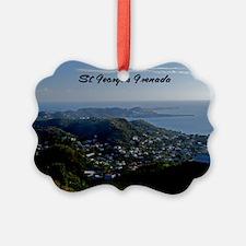 St Georges Grenada42x28 Ornament
