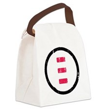 icon black Canvas Lunch Bag