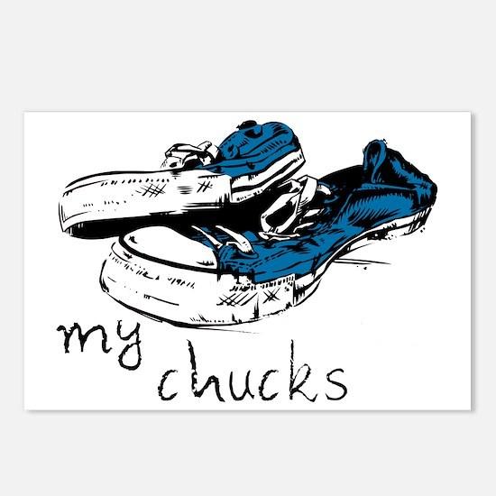 mychucks Postcards (Package of 8)