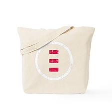 icon white Tote Bag