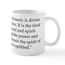 The Art of Music quote Mug
