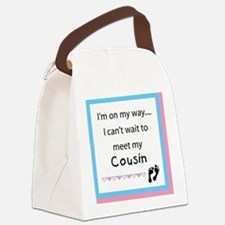 Im on my way COUSIN Canvas Lunch Bag