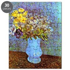 Van Gogh: Vase with Lilacs, Daisies and Ane Puzzle