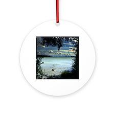 Surfers Paradise Round Ornament