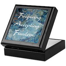 forgiving-accepting-freedom Keepsake Box