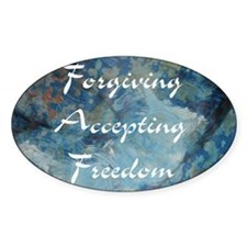 forgiving-accepting-freedom Decal