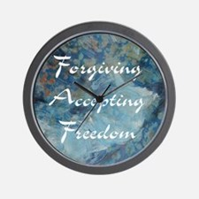 forgiving-accepting-freedom Wall Clock