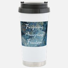 forgiving-accepting-freedom Travel Mug