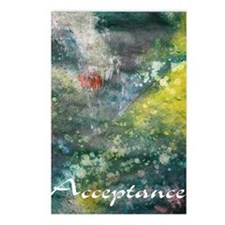 acceptance poster art Postcards (Package of 8)