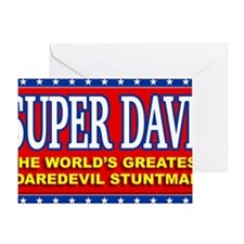 super dave Greeting Card