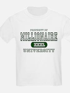 Millionaire University Kids T-Shirt