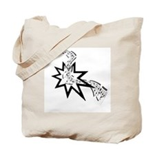 Bahai Music Tote Bag