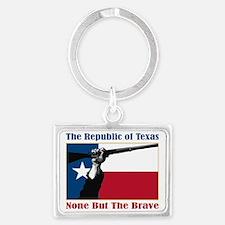 Republic of Texas (NBTB) Landscape Keychain