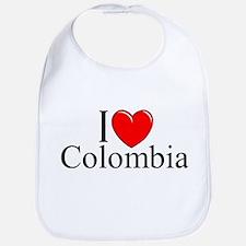 """I Love Colombia"" Bib"