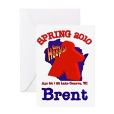 Staff pocket Brent Greeting Card