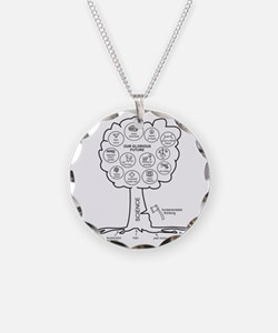 Large Hires Science Tree Necklace