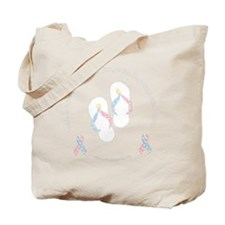 cdhribbonsandalsblck Tote Bag