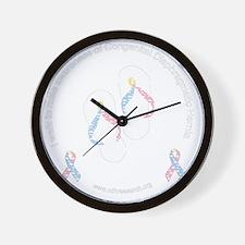 cdhribbonsandalsblck Wall Clock
