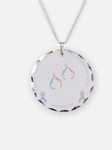 cdhribbonsandalsblck Necklace