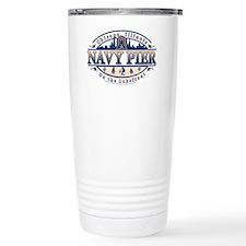 Navy-Pier-Oval-2-color Ceramic Travel Mug