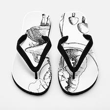 Alice and Caterpillar Flip Flops