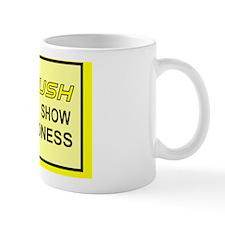 RUSH to Kind..Rec.Mag.-Yellow.Blk. Mug