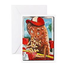 Potato boy Greeting Card