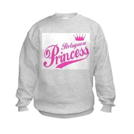 Portuguese Princess Kids Sweatshirt