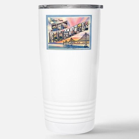 GreetingsSF Stainless Steel Travel Mug