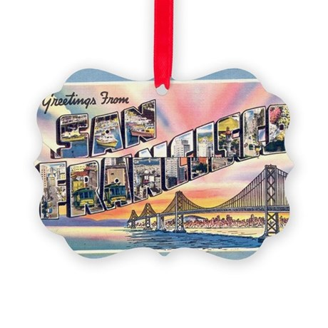 GreetingsSF Picture Ornament