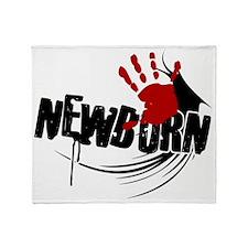 newborn1 Throw Blanket