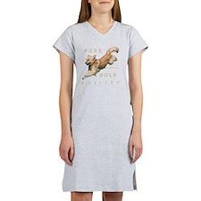 2-GoldenAgilityMerge2 Women's Nightshirt