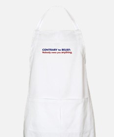Nobody Owes You Anything BBQ Apron