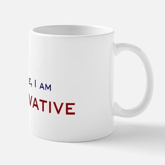I'm Conservative Mug