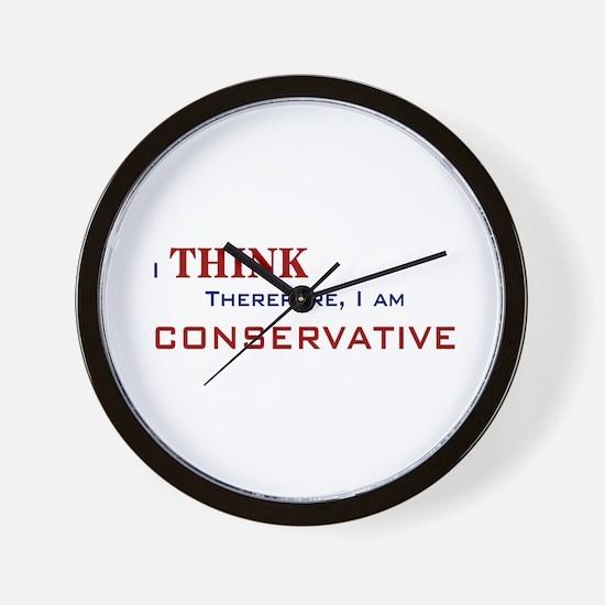 I'm Conservative Wall Clock