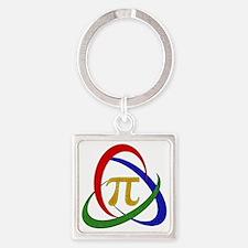 PI Square Keychain