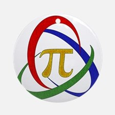 PI Round Ornament