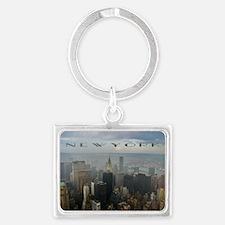 New York Landscape Keychain