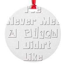 nevermetapitch Ornament