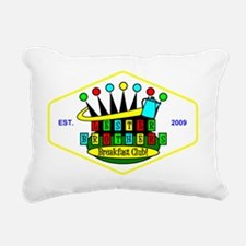 color LBBC patch revised Rectangular Canvas Pillow